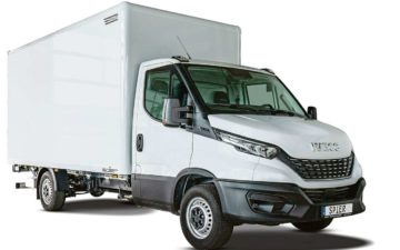 Buchen Iveco Iveco Daily Koffer + Ladeboardwand
